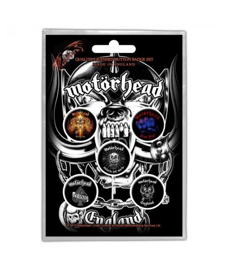 Insigne Motorhead: England