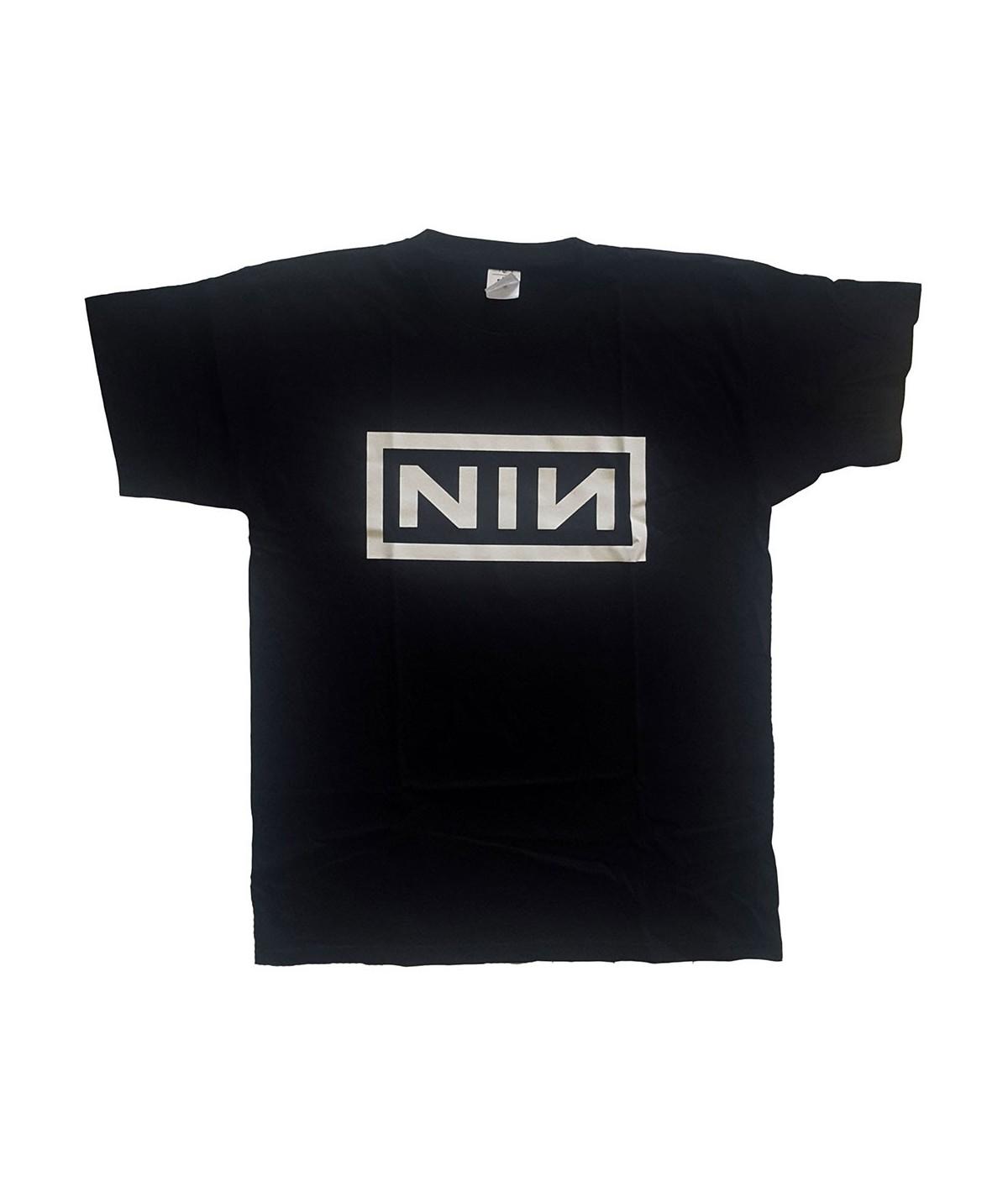 Tricou Unisex Nine Inch Nails: Classic Logo