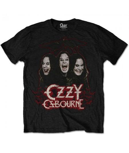 Tricou Unisex Ozzy Osbourne: Crows & Bats