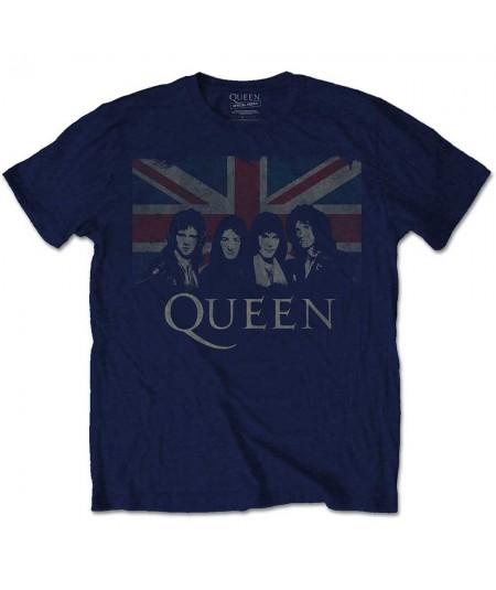Tricou Unisex Queen: Union Jack
