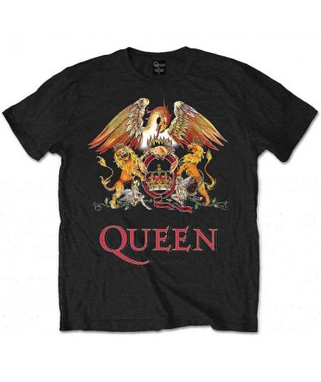 Tricou Unisex Queen: Classic Crest