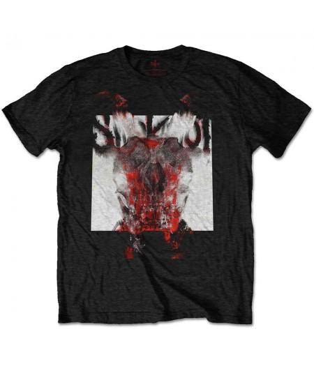 Tricou Unisex Slipknot: Devil Single - Logo Blur