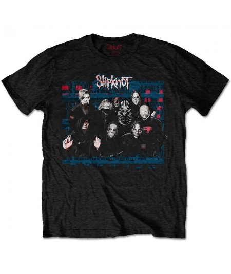 Tricou Unisex Slipknot: We Are Not Your Kind Glitch Group