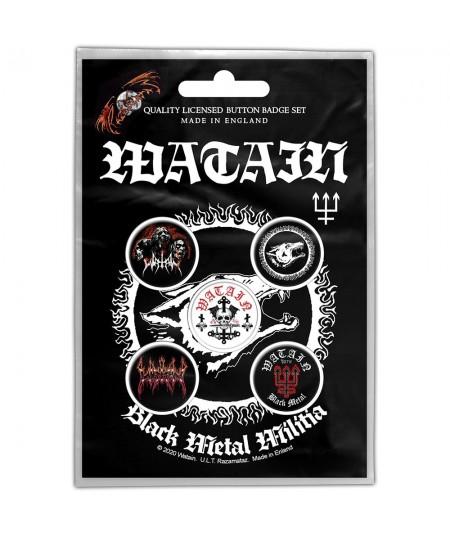 Insigne Watain: Black Metal Militia
