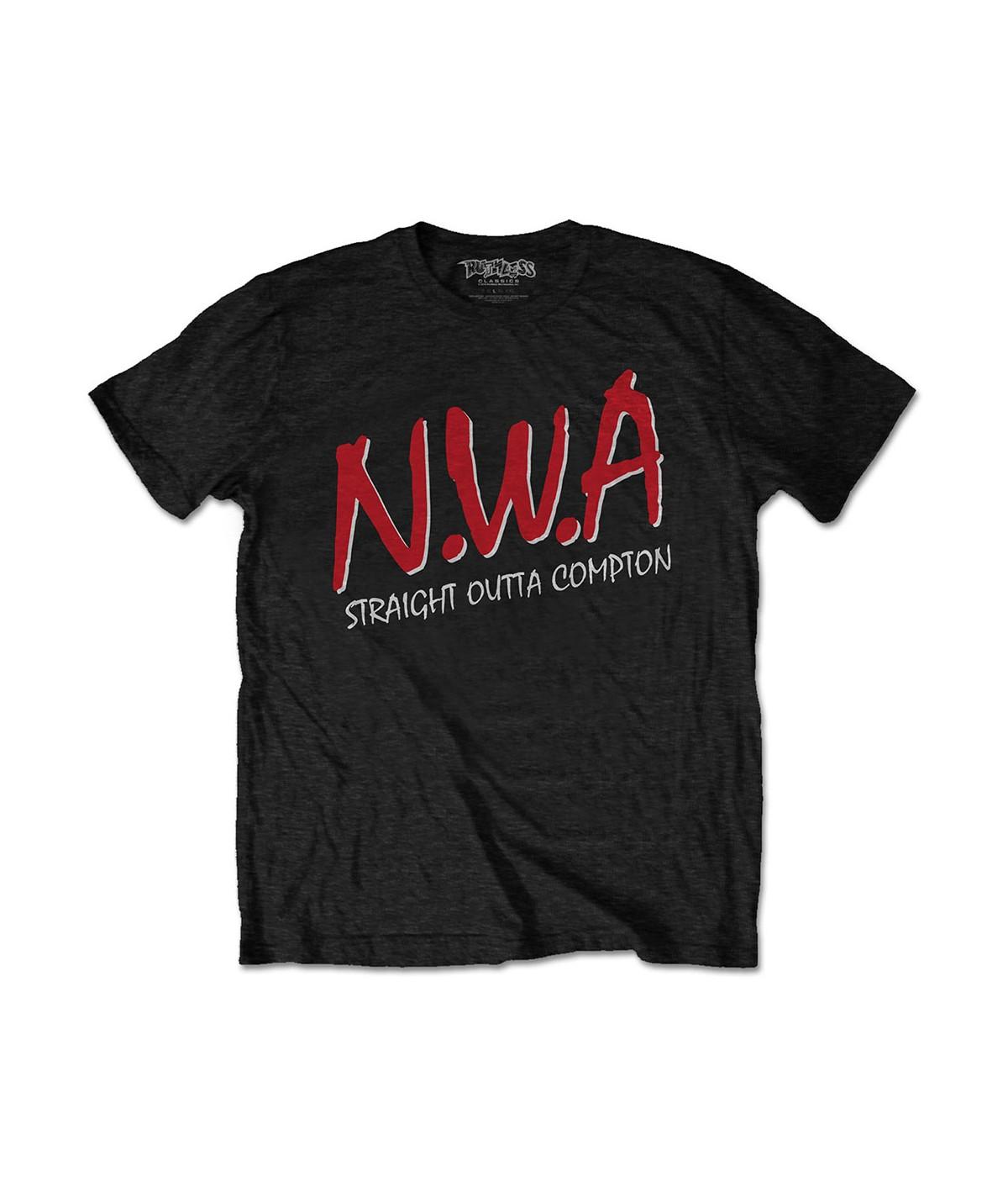 Tricou Unisex N.W.A: Straight Outta Compton