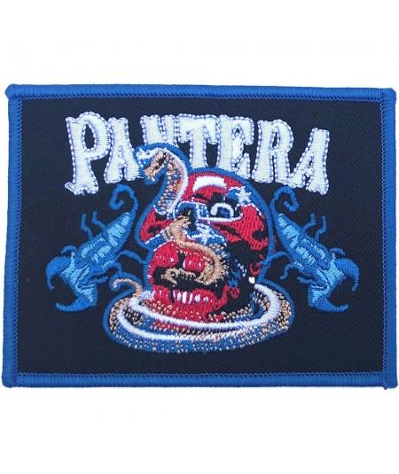 Patch Pantera: Skull & Scorpions