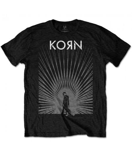 Tricou Unisex Korn: Radiate Glow