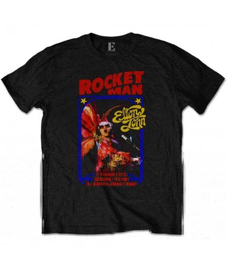 Tricou Unisex Elton John: Rocketman Feather Suit