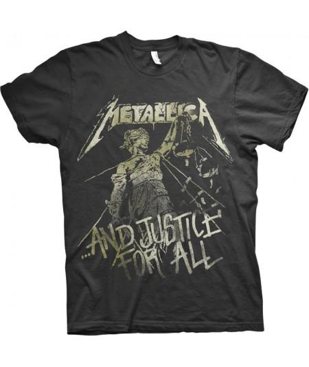 Tricou Unisex Metallica: Justice Vintage