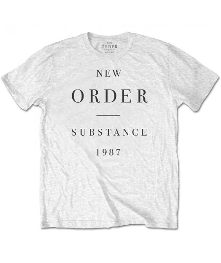 Tricou Unisex New Order: Substance