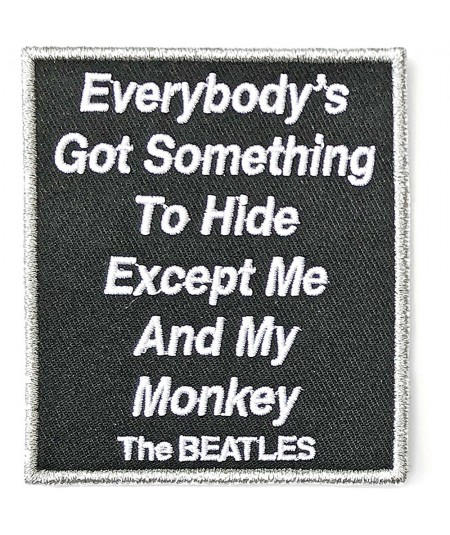 Patch The Beatles: Everybody's Got Something To Hide Except Me And My Monkey