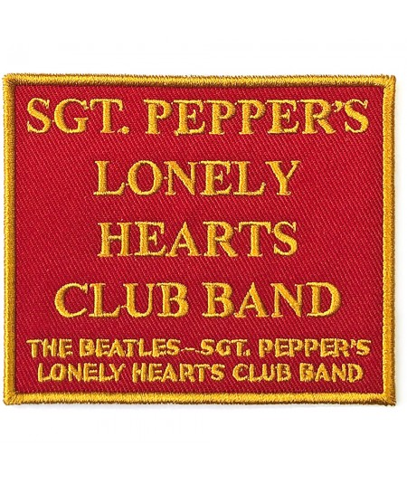 Patch The Beatles: Sgt. Pepper's….Red