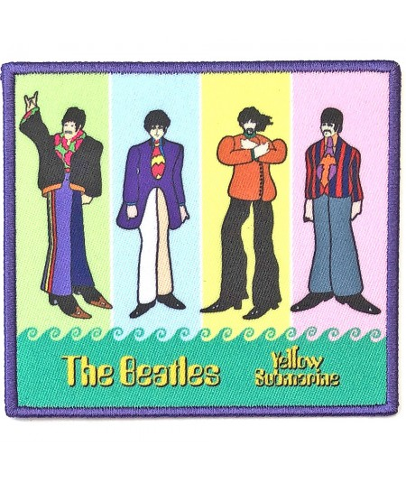 Patch The Beatles: Yellow Submarine Band in Stripes