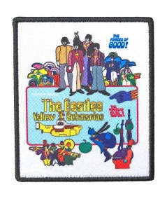 Patch The Beatles: Yellow Submarine Movie Poster
