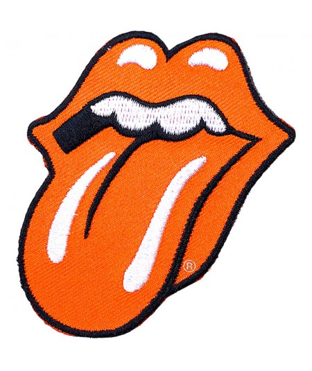 Patch The Rolling Stones: Classic Tongue Orange