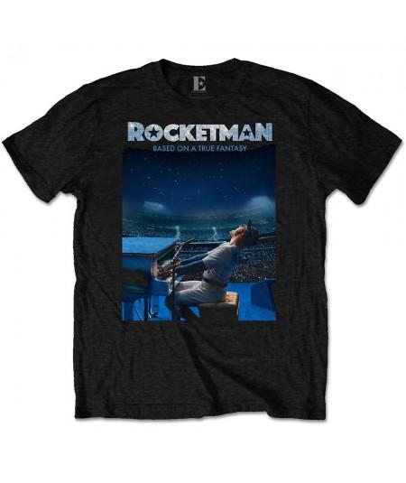 Tricou Unisex Elton John: Rocketman Starry Night