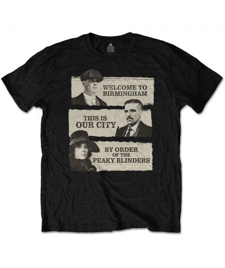 Tricou Unisex Peaky Blinders: This Is Our City