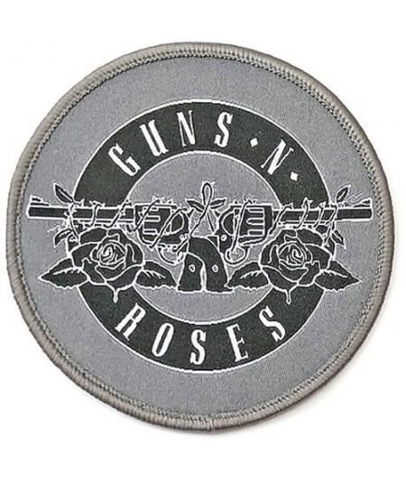 Patch Guns N' Roses: White Circle Logo