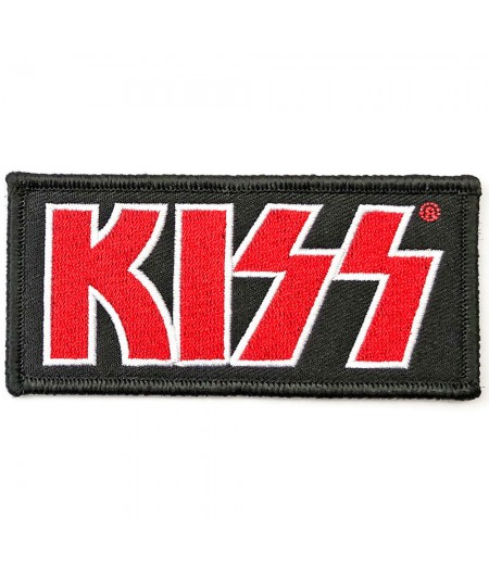 Patch KISS: Red Logo