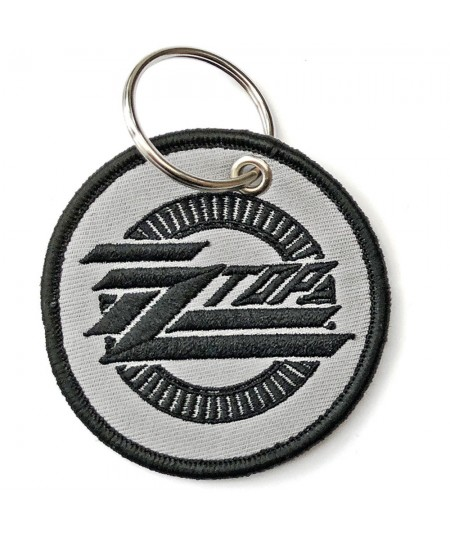 Breloc ZZ Top: Circle Logo