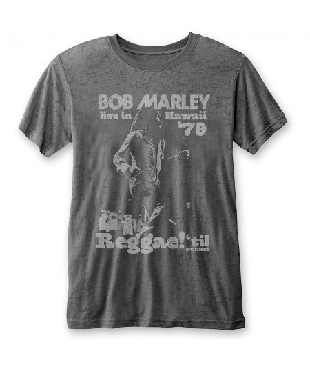 Tricou Burn Out Bob Marley: Hawaii