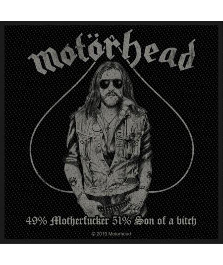 Patch Motorhead: 49% Motherfucker