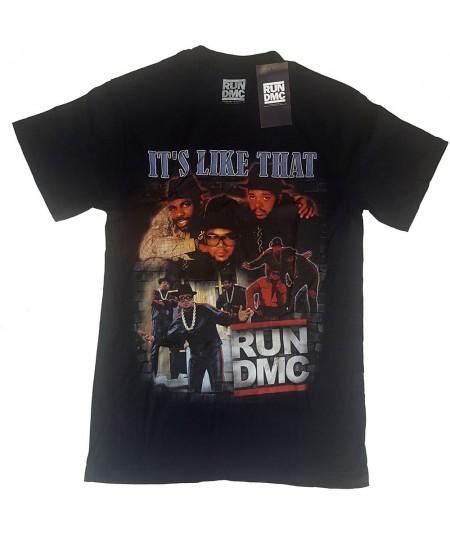 Tricou Unisex Run DMC: It's Like That Homage
