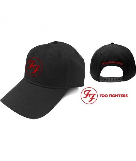 Sapca Foo Fighters: Red Circle Logo