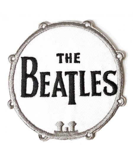 Patch The Beatles: Drum Logo