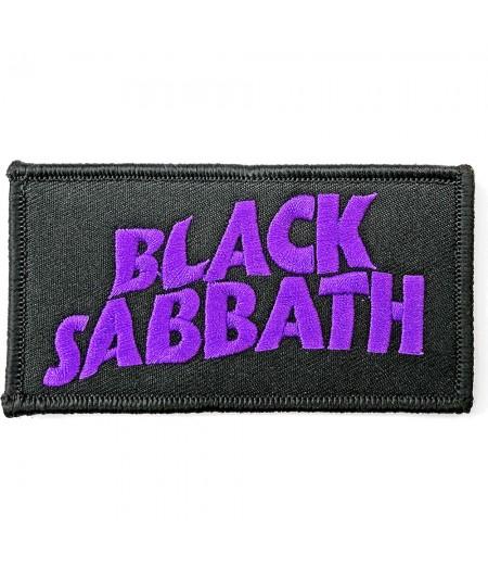 Patch Black Sabbath: Wavy Logo