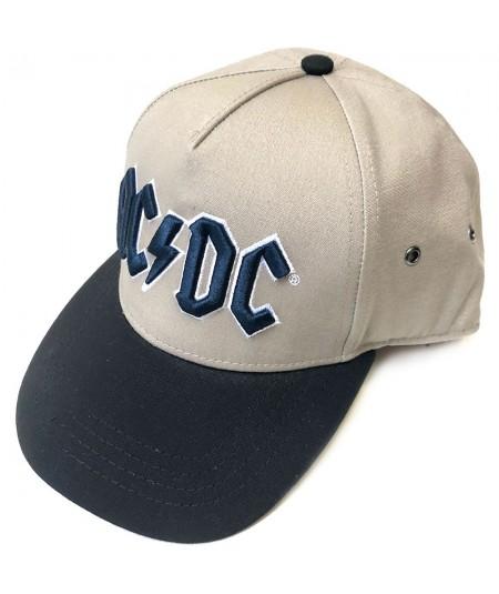Sapca Snapback AC/DC: Navy Logo