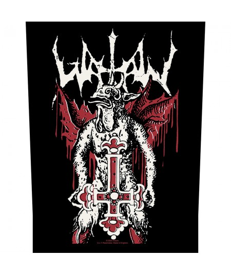 Back Patch Watain: Inverted Cross