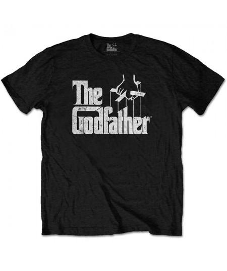 Tricou Unisex The Godfather: Logo White