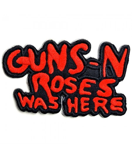Patch Guns N' Roses: Cut Out Was Here