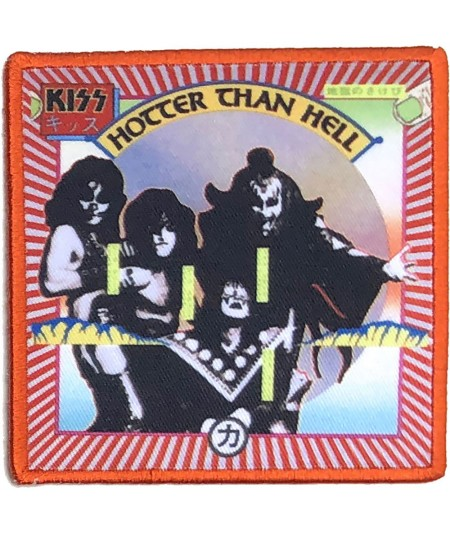Patch KISS: Hotter Than Hell
