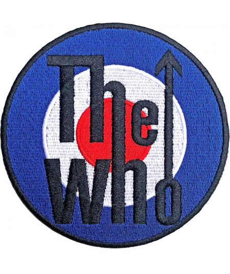 Patch The Who: Target Logo Bordered