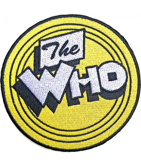 Patch The Who: Yellow Circle