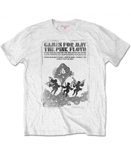 Tricou Unisex Pink Floyd: Games For May B&W