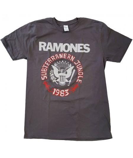 Tricou Unisex Ramones: Subterranean Jungle
