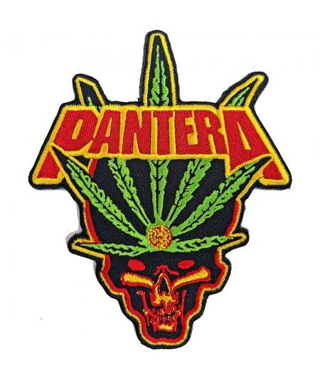 Patch Pantera: Leaf Skull