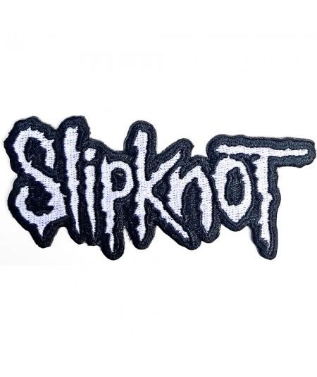 Patch Slipknot: Cut-Out Logo Black Border