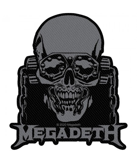 Patch Megadeth: Vic Rattlehead Cut Out