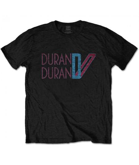 Tricou Unisex Duran Duran: Double D Logo