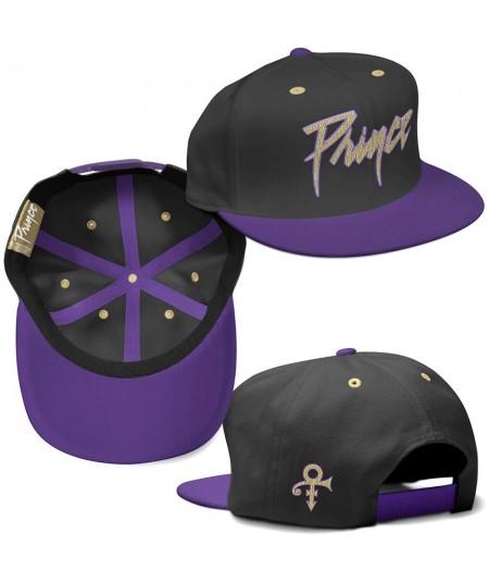 Sapca Snapback Prince: Gold Logo & Symbol