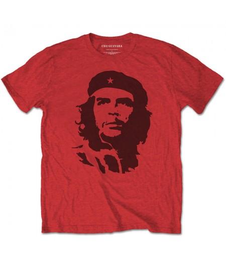 Tricou Unisex Che Guevara: Black on Red