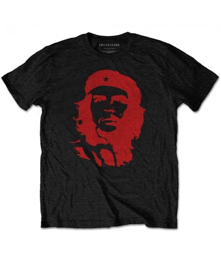 Tricou Unisex Che Guevara: Red on Black