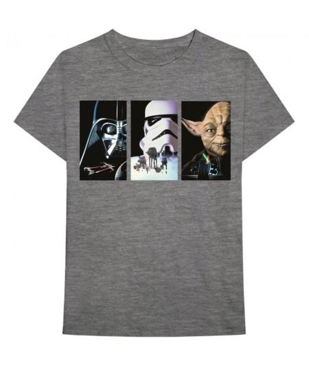 Tricou Unisex Star Wars: Tri VHS Art