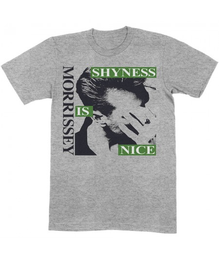Tricou Unisex Morrissey: Shyness Is Nice