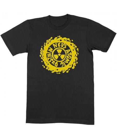 Tricou Unisex Ned's Atomic Dustbin: Yellow Classic Logo