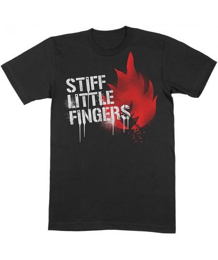 Tricou Unisex Stiff Little Fingers: Graffiti